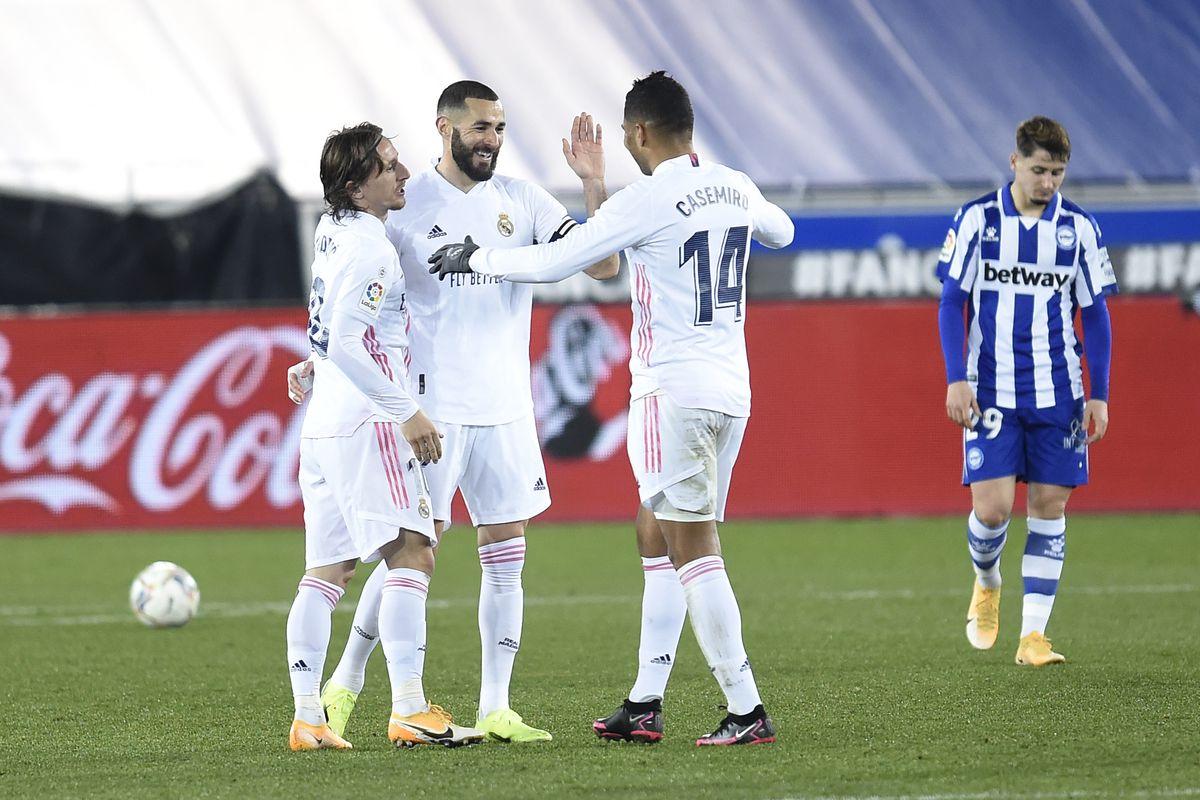 Player Ratings Alaves 1 Real Madrid 4 2020 21 La Liga Managing Madrid