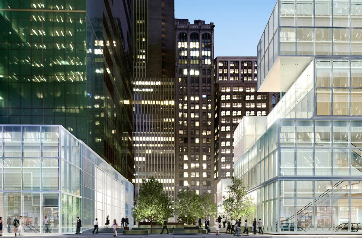 """The cubes headed for 42nd St, via <a href=""""http://www.42ndstreetretail.com/"""">42ndstreetretail.com</a>"""