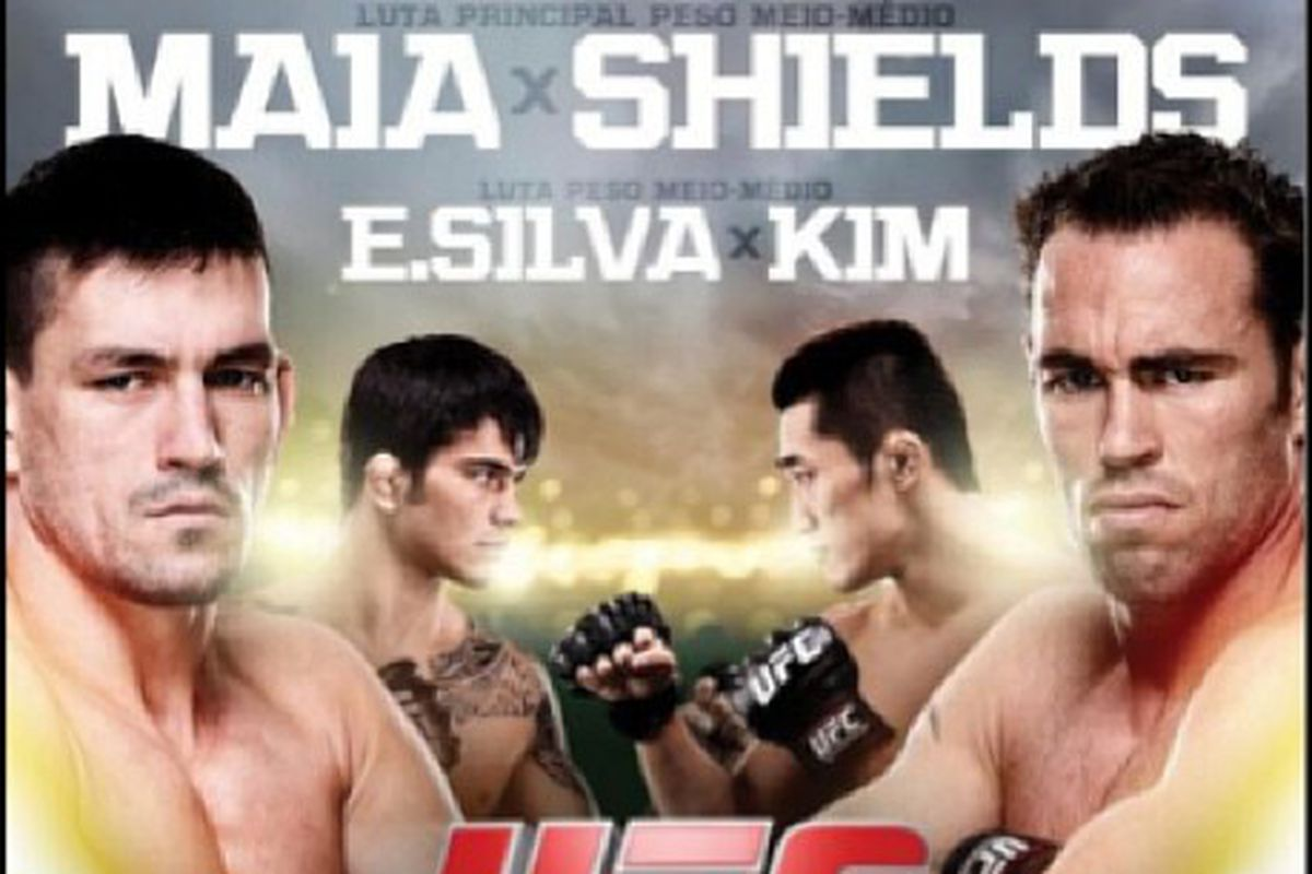 UFC Fight Night 29 full poster...