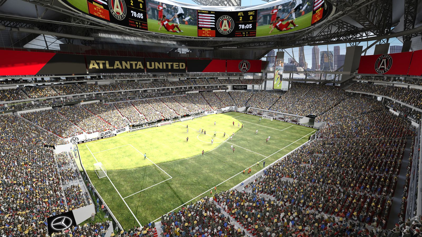 Mercedes benz stadium single game ticket sales announced for Mercedes benz stadium atlanta united