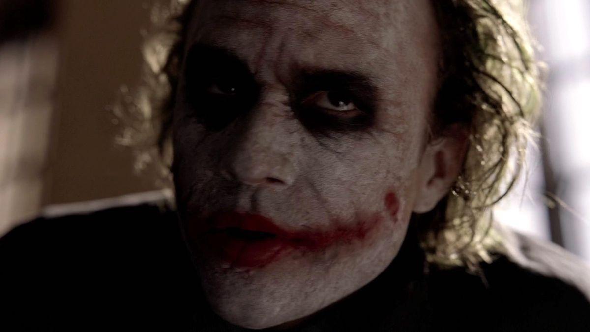 the joker IMAX prologue the dark knight 2008