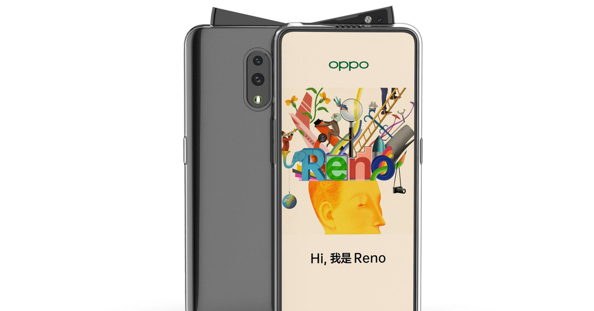 Leaked Oppo Reno pictures show off the weirdest notch-killing slider yet