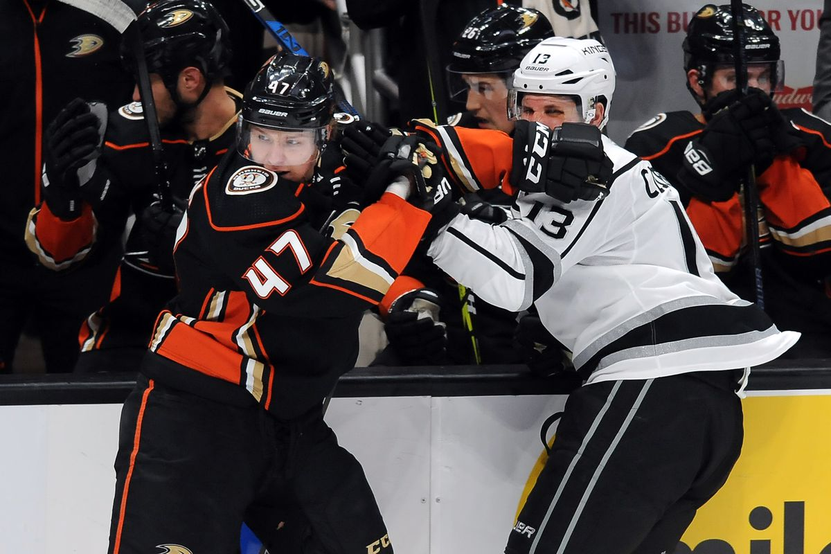 NHL: JAN 19 Kings at Ducks