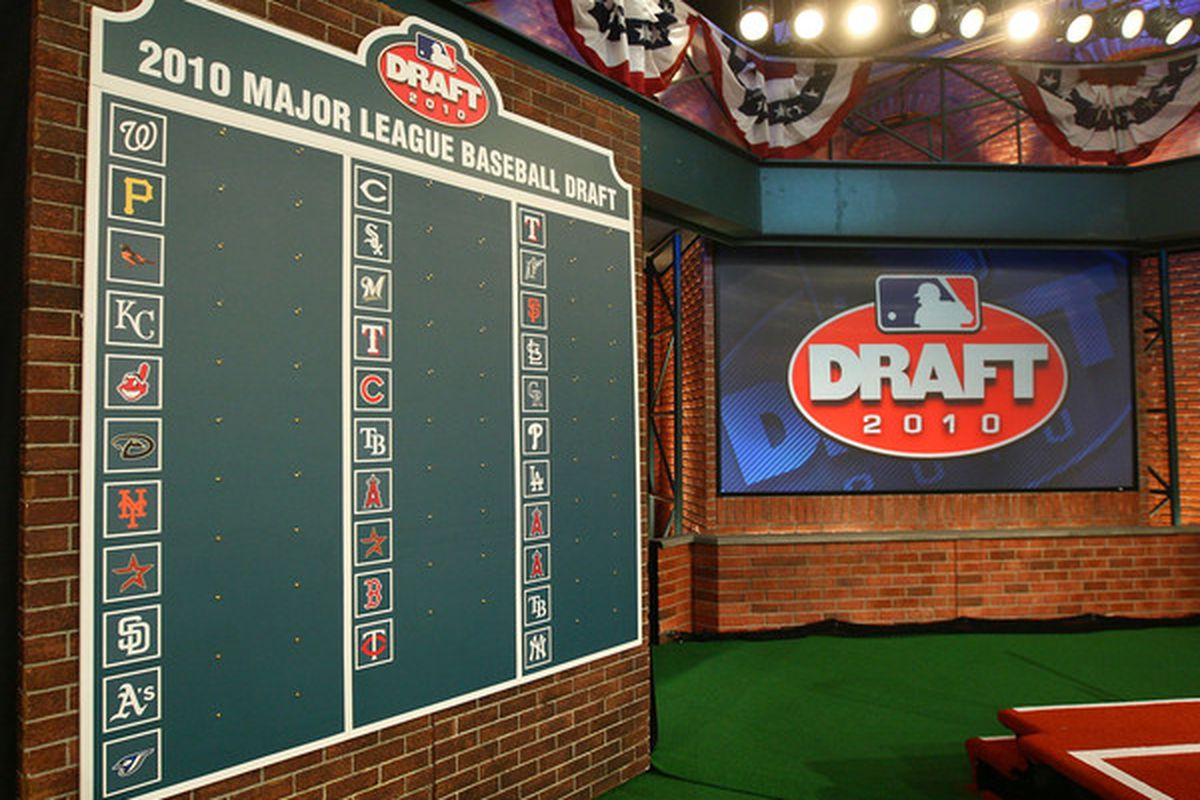 MLB has decided to go back in time and redo the 2010 draft. Somehow the A's still end up with Michael Choice!