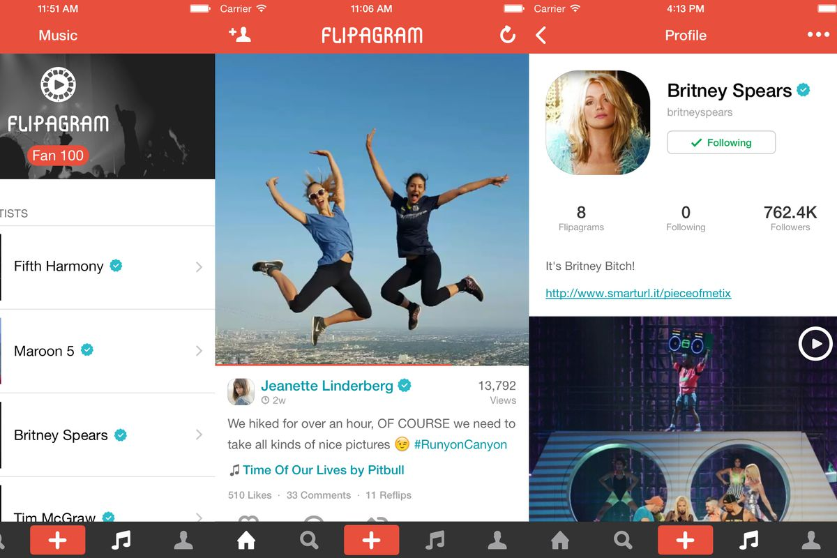 flipagram signs deal to bring real music to its short photo and