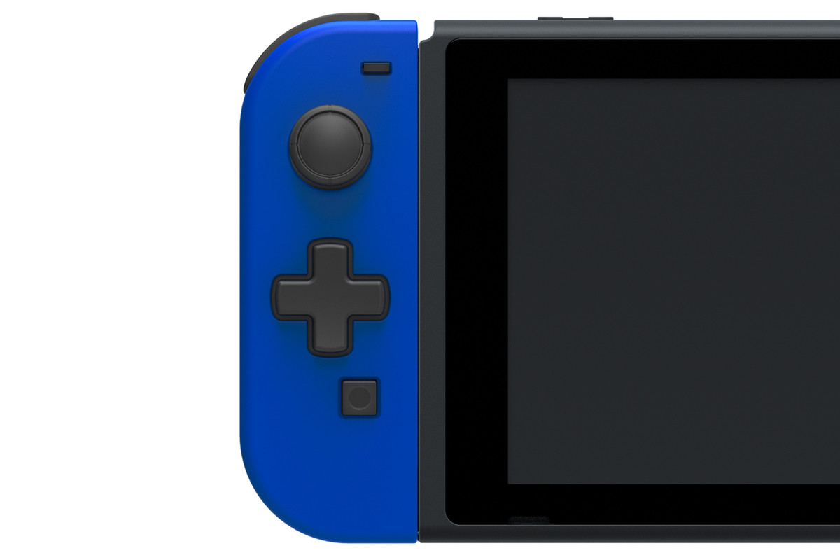 Nintendo Switch Joy-Con With A Real D-Pad Coming From Hori