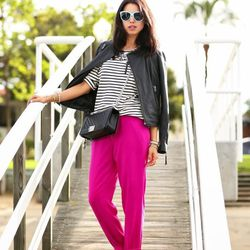 """Annabelle of <a href=""""http://vivaluxury.blogspot.com""""target=""""_blank""""> Viva Luxury</a> is wearing <a href=""""http://www.elietahari.com/en_US/emmy-pant/739412299077.html?start=26&cgid=women-shop-pants&PathToProduct=women-shop-pants""""target=""""_blank"""">Elie Tahar"""