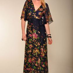 Paper Crown floral dress from A.sweeT., $407
