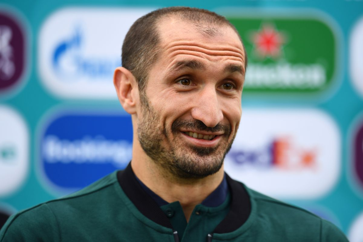 Italy Training Session and Press Conference - UEFA Euro 2020: Final