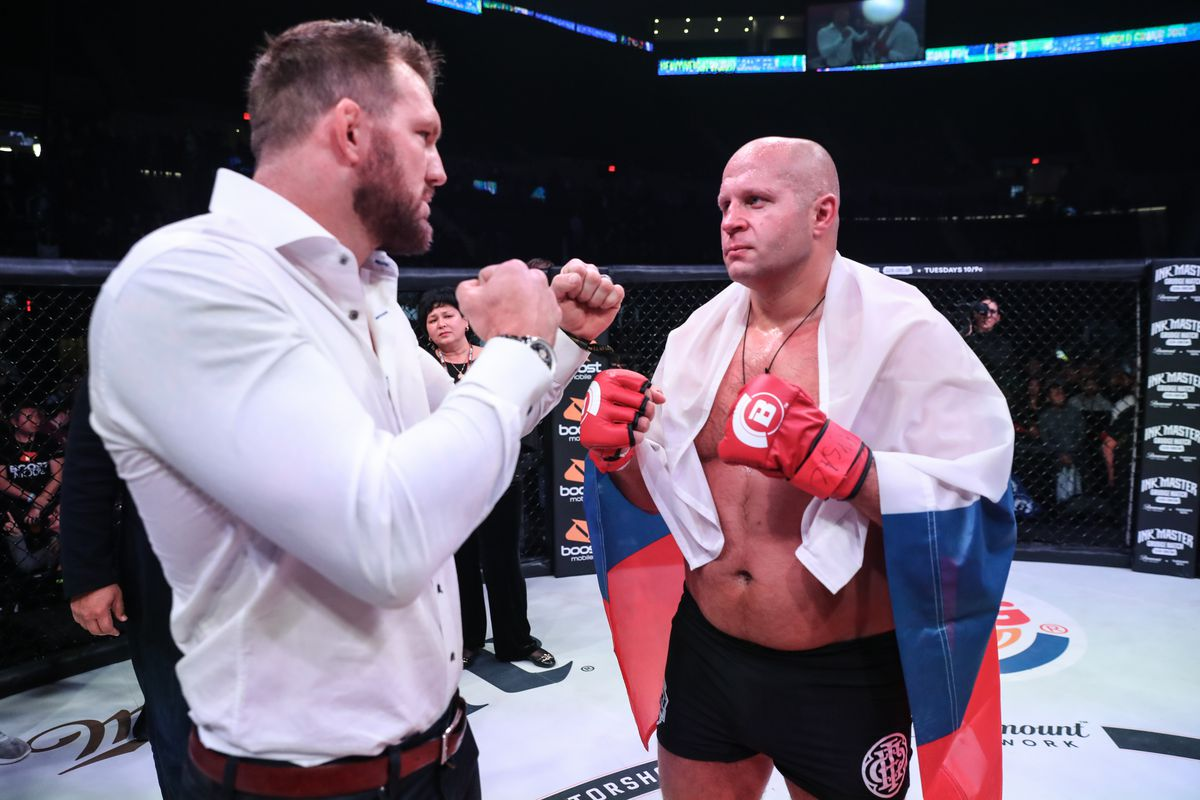 Bellator heavyweight grand prix semifinals ratings down from quarterfinal bouts