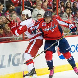 Ovechkin Hits Smith