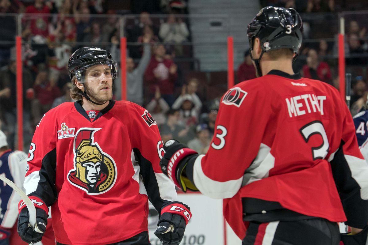 NHL: Columbus Blue Jackets at Ottawa Senators