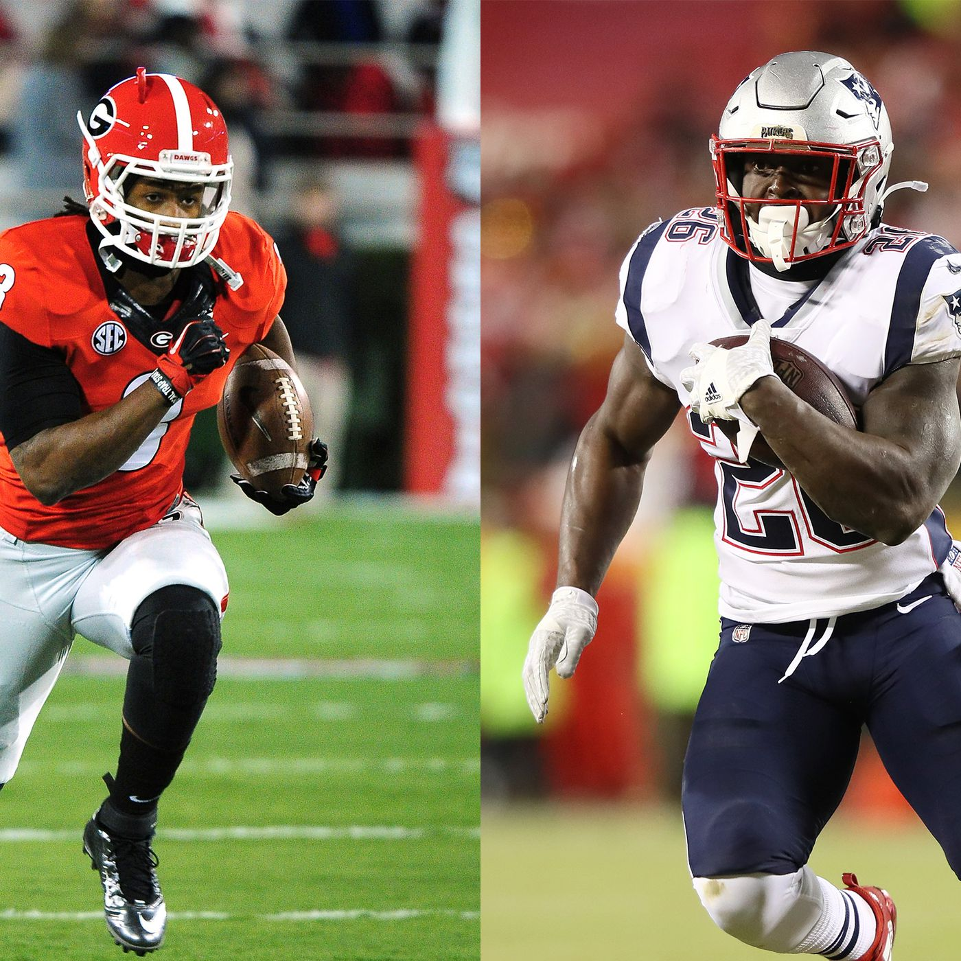 more photos 2c767 60646 Todd Gurley and Sony Michel are forever linked, from UGA to ...