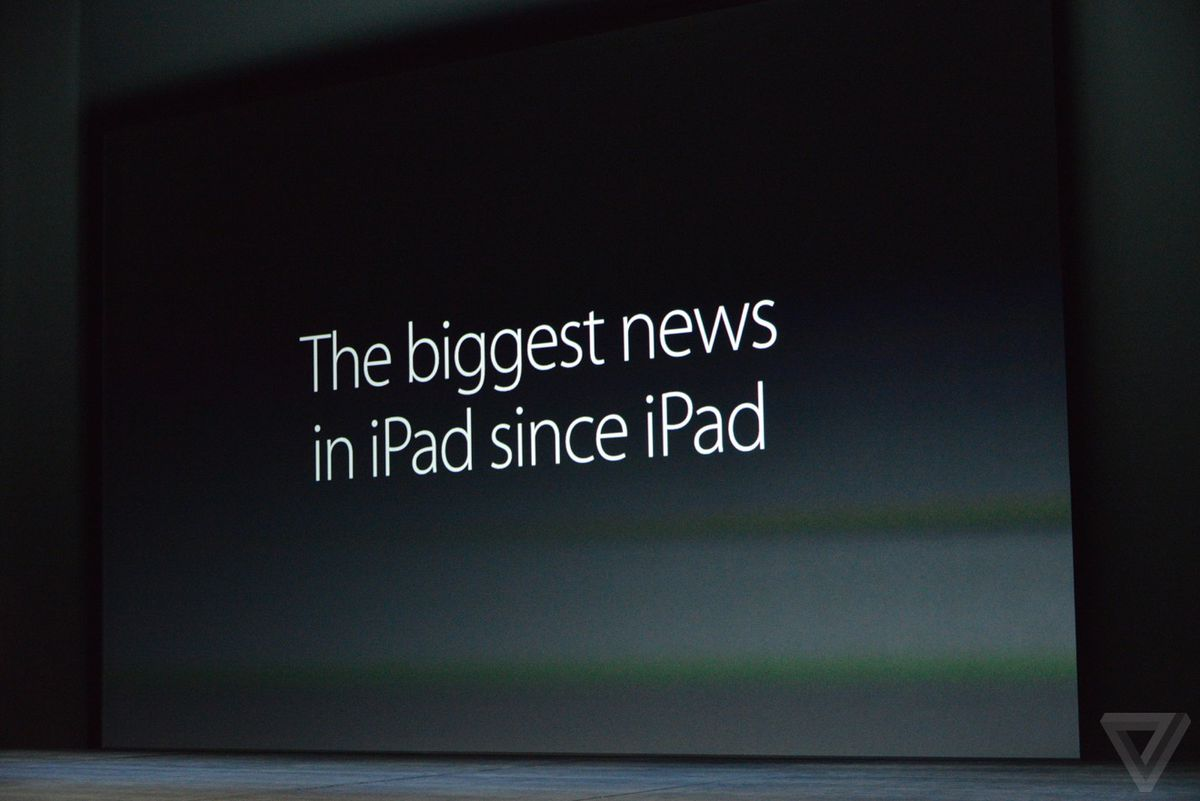 Apple's event showed off the latest iPad products.