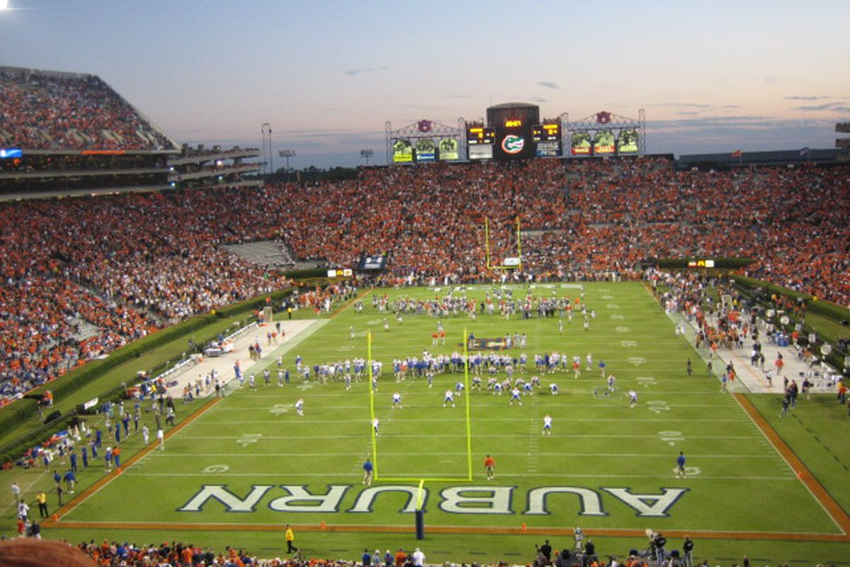 How long before Jordan-Hare's next expansion?