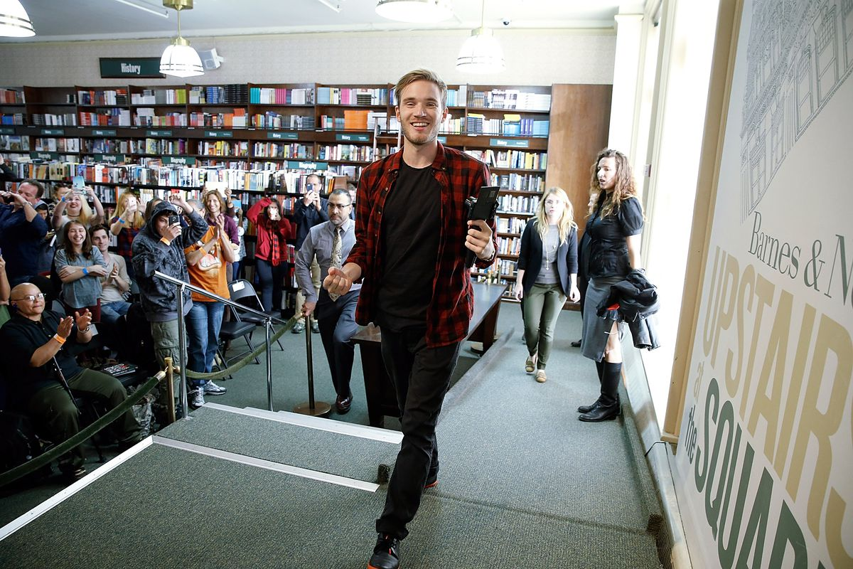 Pewdiepie hits 50 million subscribers promises again to delete his photo by john lamparskigetty images m4hsunfo