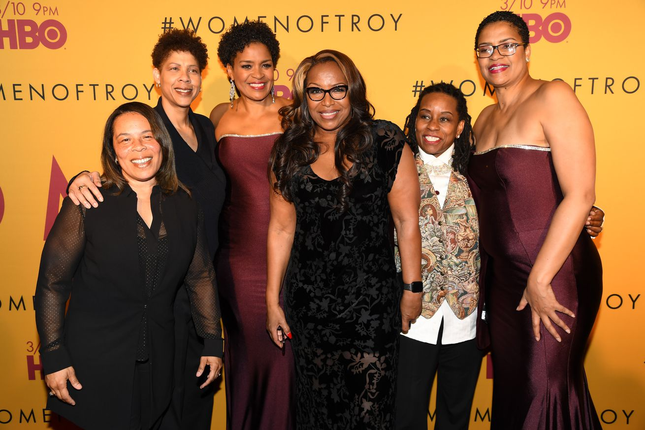"Los Angeles Premiere of ""Women of Troy"" From HBO"