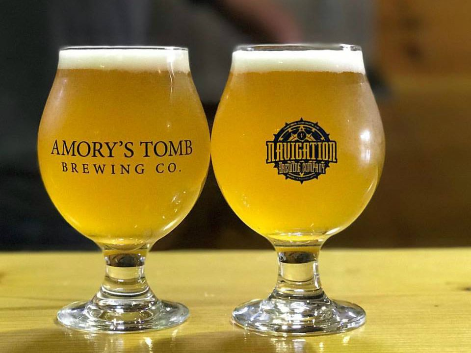 Amory's Tomb Brewing Company beer