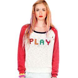 """Raglan sweater, <a href=""""http://www.jco.la/preorder/natalie""""target=""""_blank"""">$108</a>."""