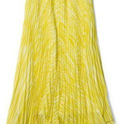 "<a href=""http://www.clubmonaco.com/product/index.jsp?productId=12506311&cp=12243590.12266442.12454412&ab=ln_women_apparel_skirts""> Club Monaco Lonnie Long Lemon Drop Skirt</a>, $159.50 clubmonaco.com"