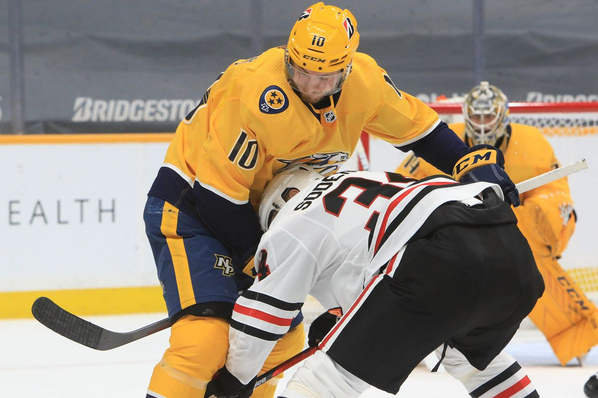 NHL: JAN 27 Blackhawks at Predators