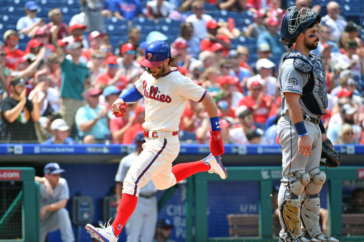 MLB: San Diego Padres at Philadelphia Phillies