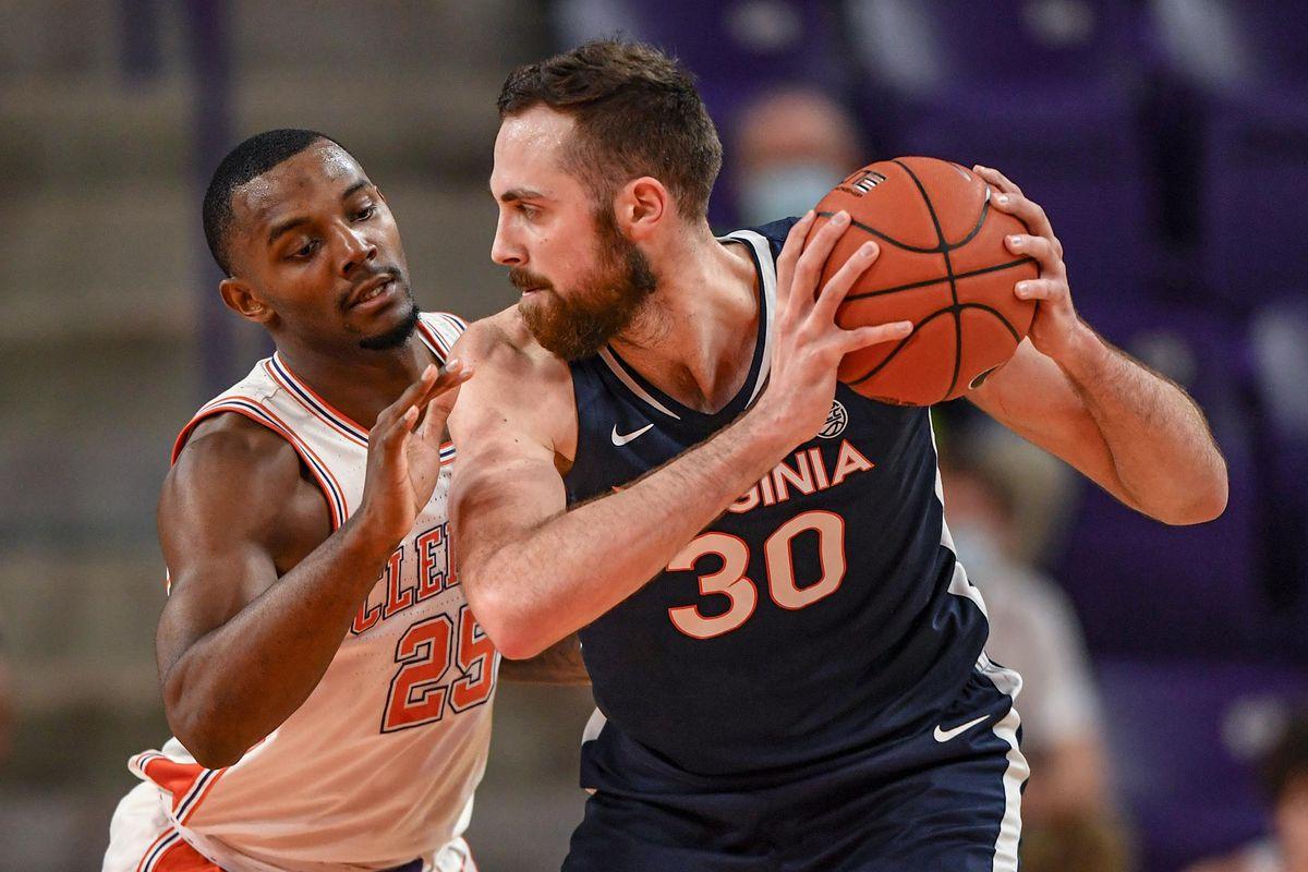NCAA Basketball: Virginia at Clemson