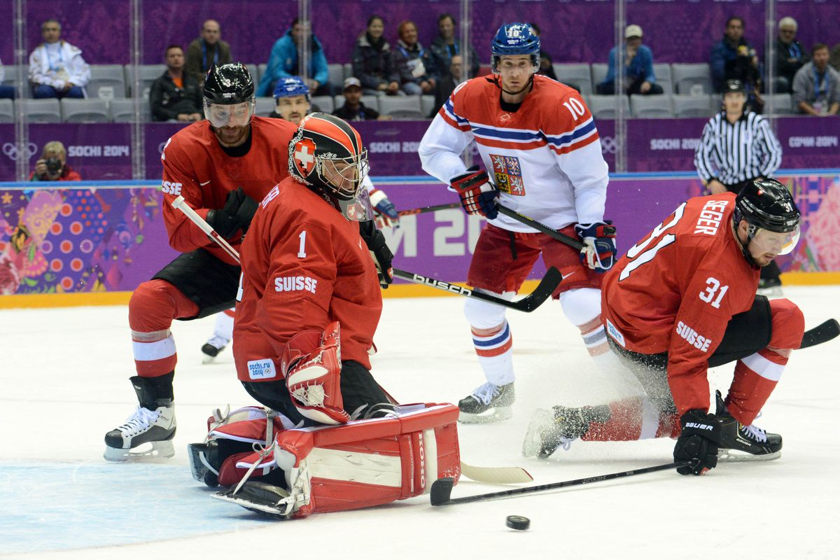 Swiss teammates Jonas Hiller and Raphael Diaz could find themselves reunited in Calgary.