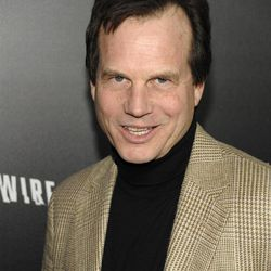 """In this Jan. 5, 2012 file photo, actor Bill Paxton arrives at the premiere of the feature film """"Haywire"""" in Los Angeles. Paxton, a 2012 Emmy nominee, says that a part on """"Boardwalk Empire"""" would be a dream role for him."""