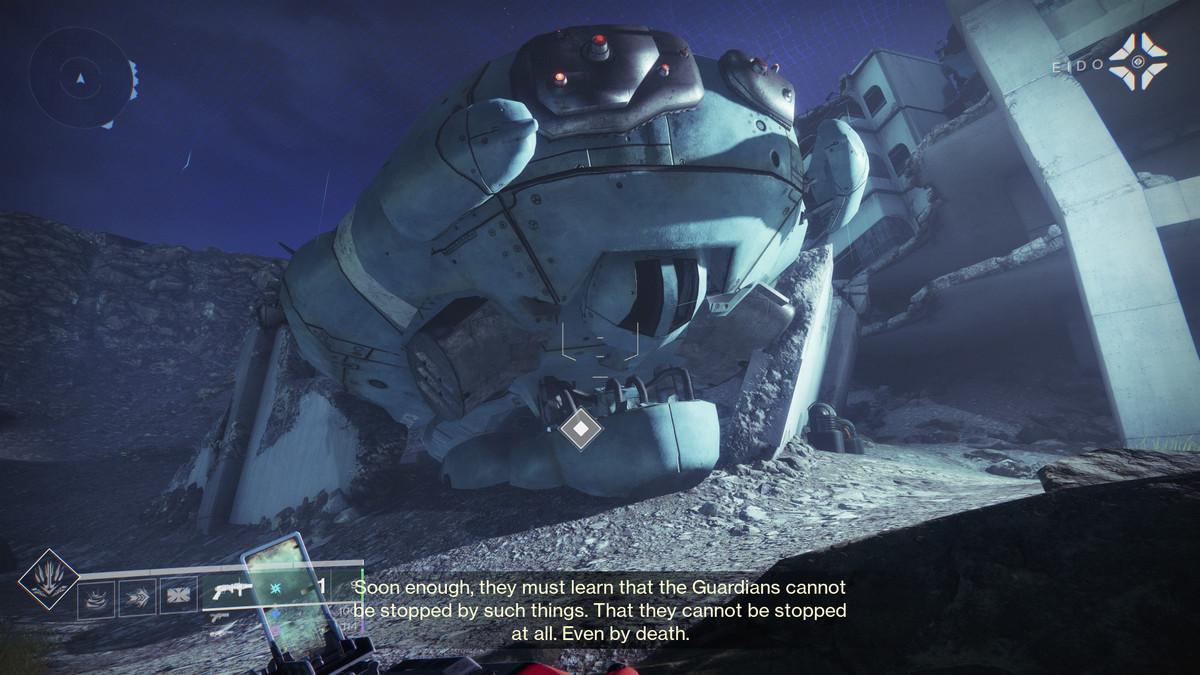 Destiny 2 Ketch Fallen sanctuary