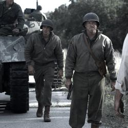 """A scene from """"Saints and Soldiers: The Void,"""" directed by Ryan Little and produced by Adam Abel. The film opens in theaters Friday."""