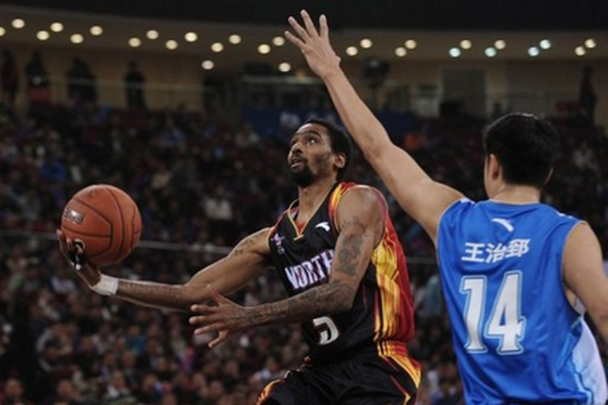 The former Sacramento Kings and Toronto Raptors guard found fame playing in China for three seasons and now has the chance to lift UCAM Murcia after signing in Spain's ACB League this week.