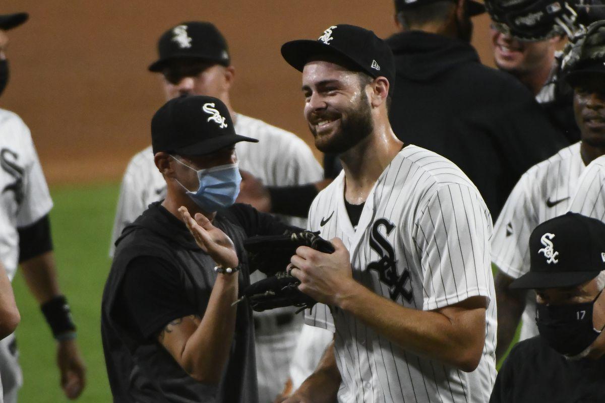 """""""It does give me hope seeing baseball players speaking up, standing up,"""" White Sox pitcher Lucas Giolito said. """"But I think that there's a lot more that needs to be done."""""""