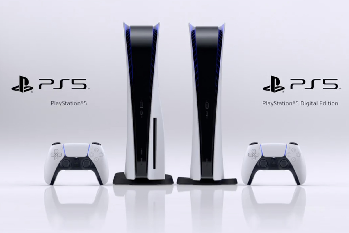 At the end of Sony's event, the company shared the full design for the PlayStation 5, which has white walls and a black core.