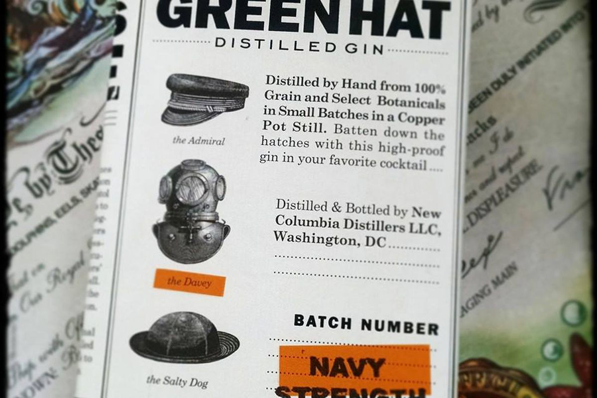 Green Hat's new gin.