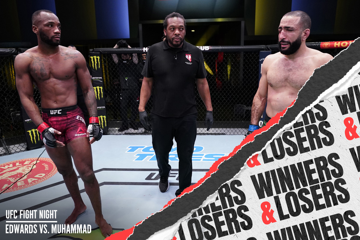 Leon Edwards vs. Belal Muhammad ended in a no contest at UFC Vegas 21.