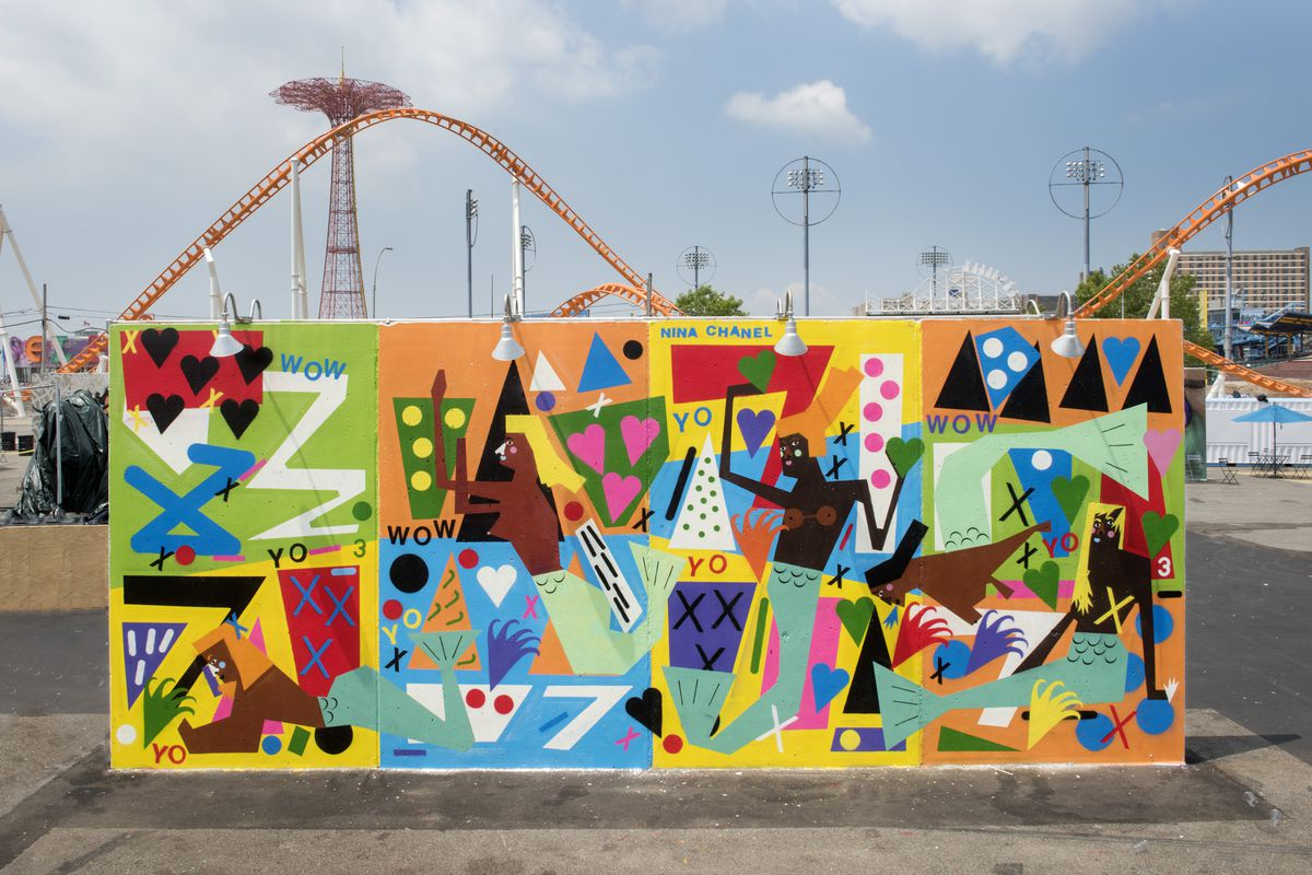 Coney art walls return this weekend for the summer season for Concerts at the mural