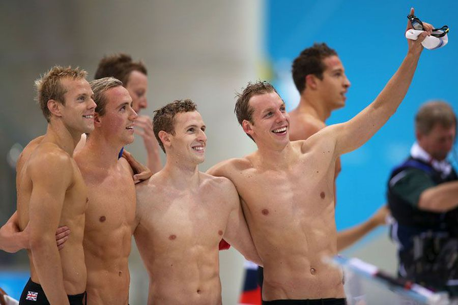 Best Bromance Photos Of The London 2012 Games - Outsports-5828