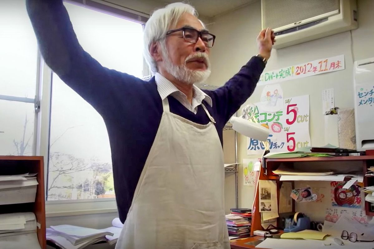 miyazaki in kingdom of dreams and madness