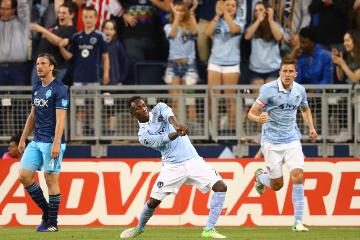MLS: Seattle Sounders FC at Sporting KC