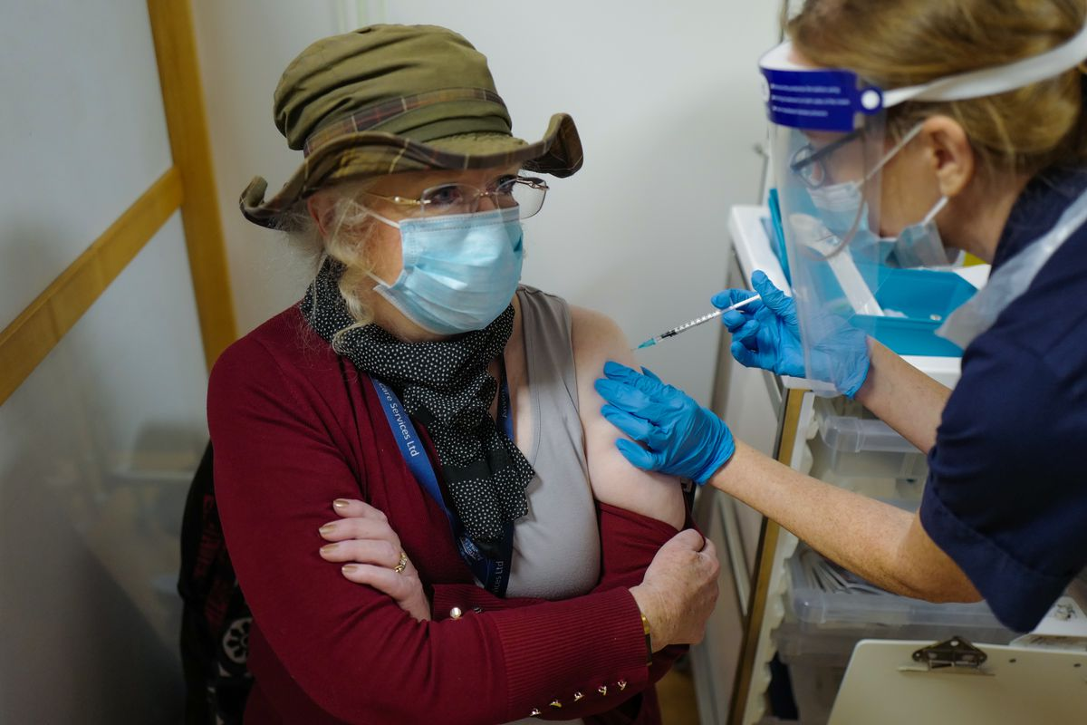 """NHS England Starts Covid-19 Vaccination Campaign """"n"""