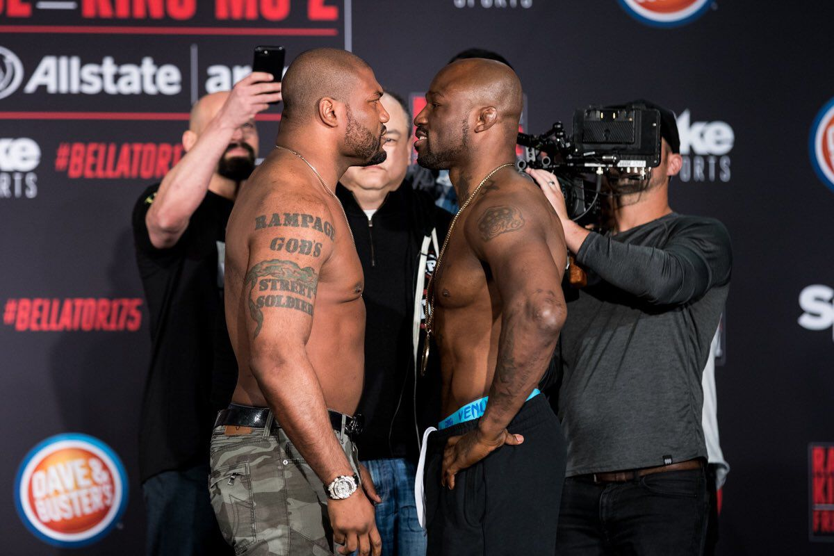 Allstate Sign In >> Bellator 175 Results: Rampage vs. King Mo 2 - MMA Fighting