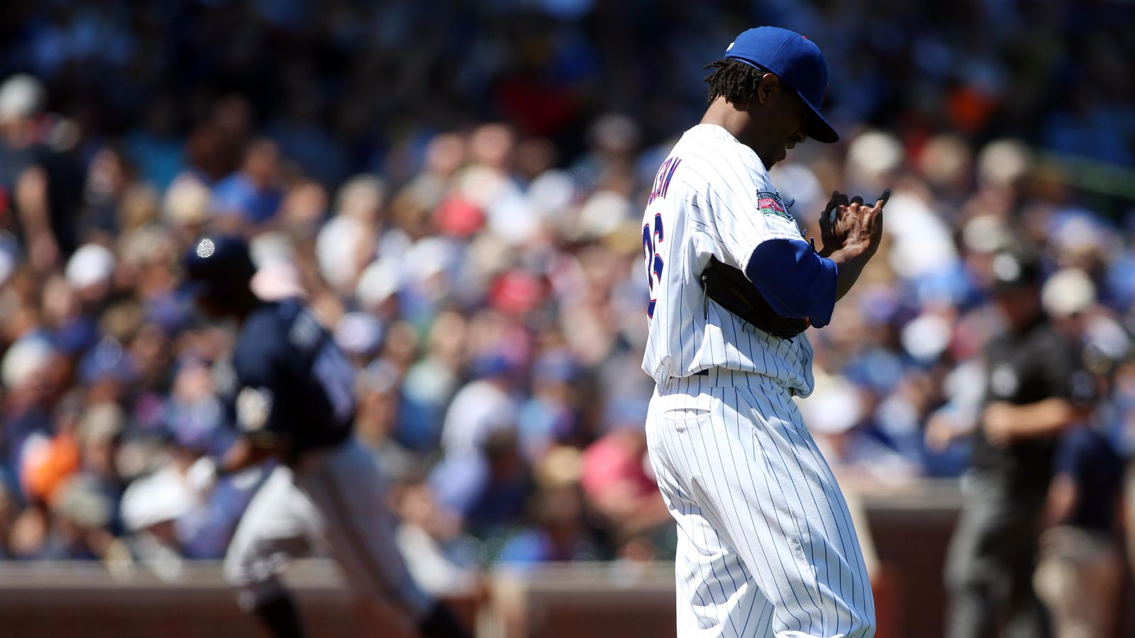 Edwin Jackson's poor command puts him in difficult ...