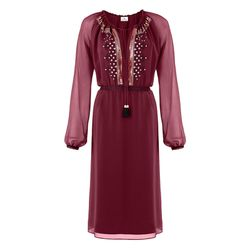 Embroidered Dress in Red, $54.99 (Available on Net-A-Porter)