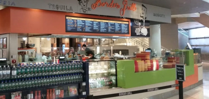 5  The Border Grill  Susan Feniger and Mary Sue Milliken s food truck  inside LAX may have closed  but the original counter service restaurant is  alive and  Where to Eat at LAX  Spring 2017   Eater LA. Restaurants Near Lax Airport. Home Design Ideas