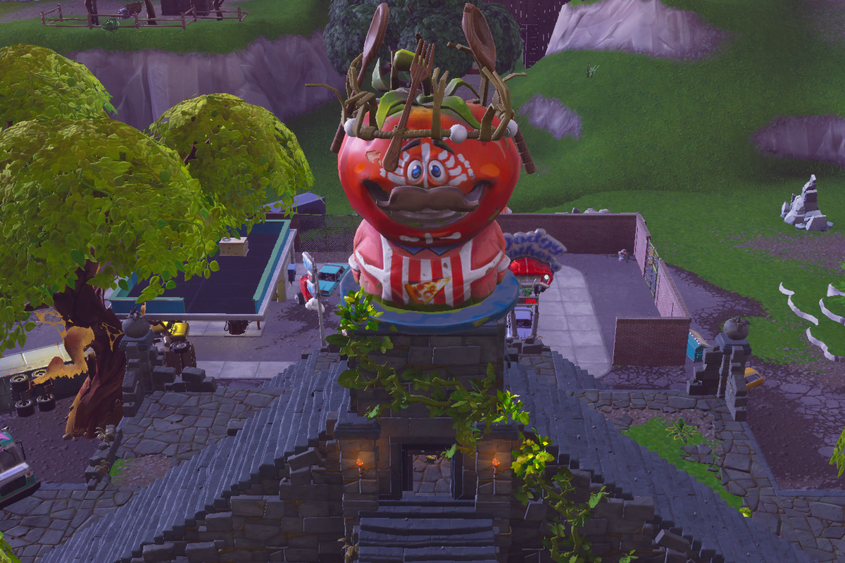 Tomato Temple is a perfect addition to Fortnite's map ...