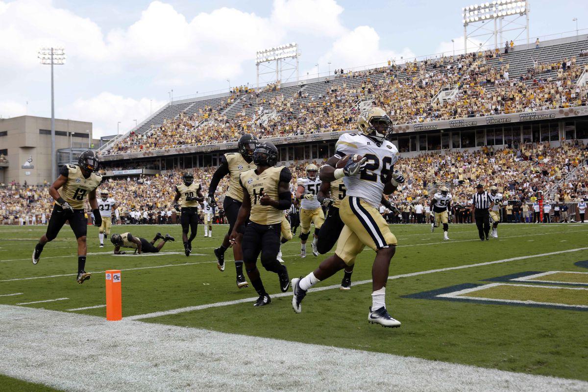 NCAA Football: Vanderbilt at Georgia Tech