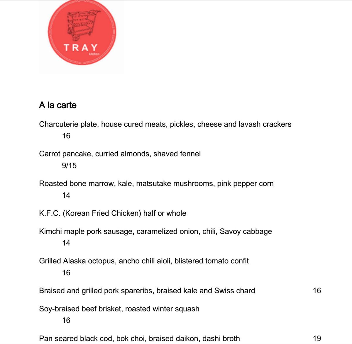 tray menu 3