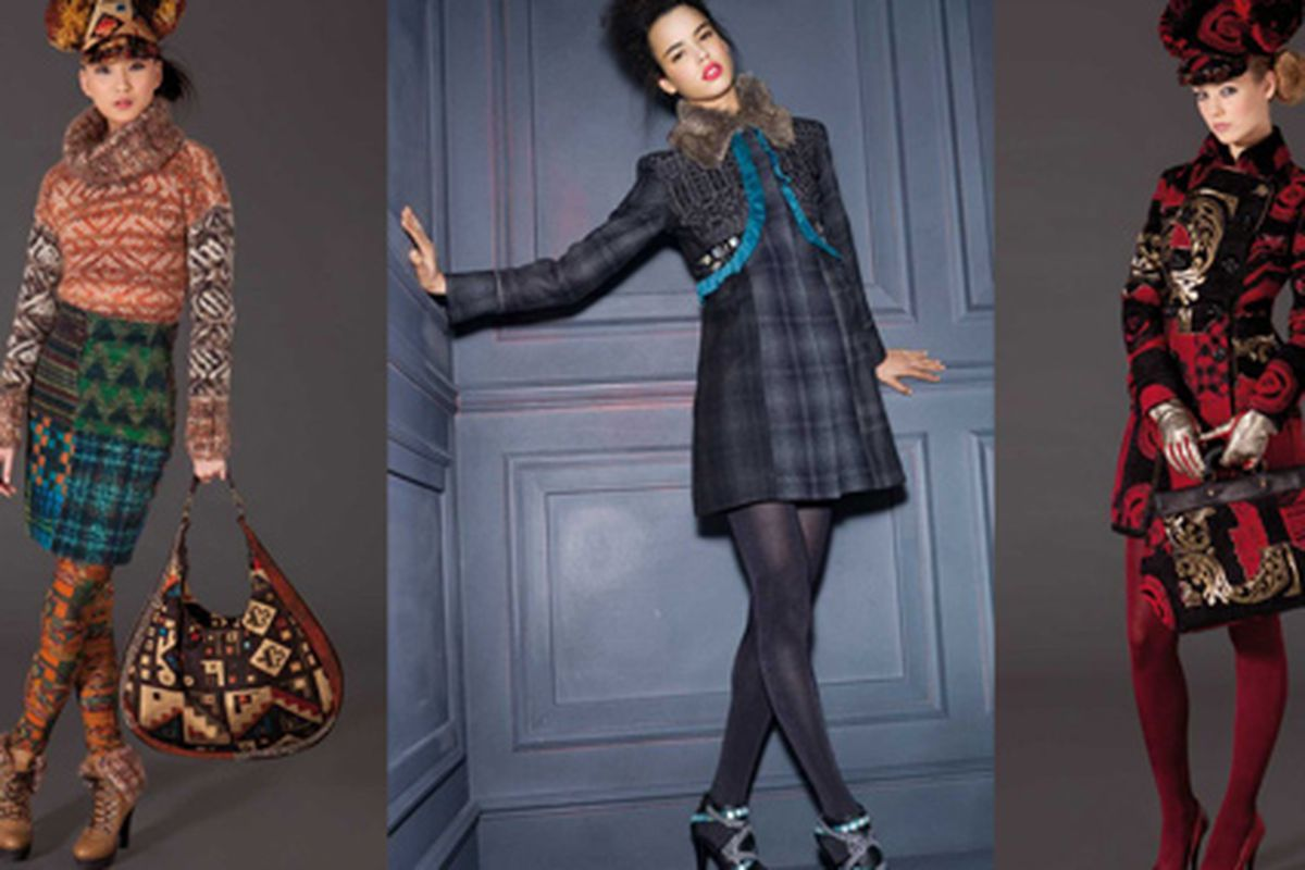 """Images via <a href=""""http://fashionindie.com/christian-lacroix-adds-a-little-french-flair-to-desigual/#more-200648"""">Fashion Indie</a>"""