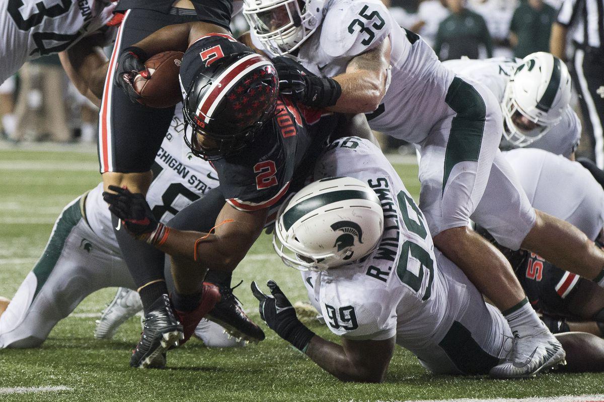 NCAA Football: Michigan State at Ohio State
